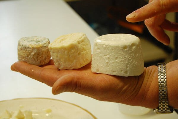 kinds of goat cheese