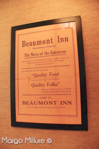 dining at beaumont inn