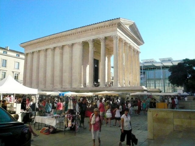 La Maison Carre in Nimes